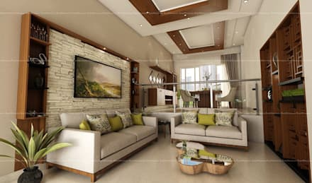 Project 4: Modern Living Room By Fabmodula
