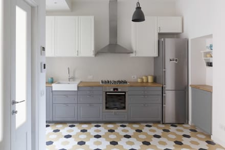Built-in kitchens by Filippo Colombetti, Architetto