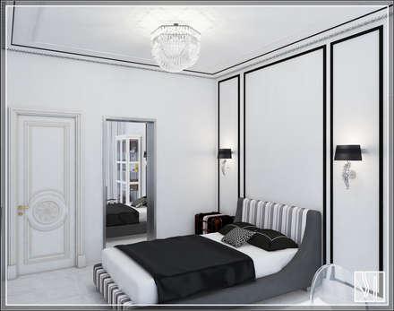 Dormitorios juveniles  de estilo  por Студия дизайна Светланы Исаевой