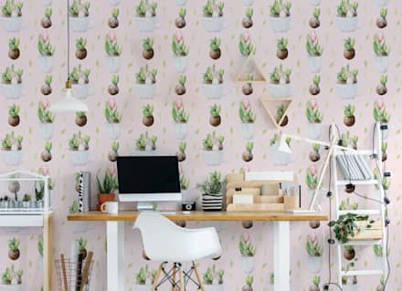 EASTER PLANTS: scandinavian Study/office by Pixers