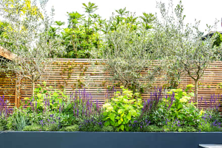 An Outside Entertainment Area Come Rain Or Shine: Mediterranean Garden By  Kate Eyre Garden Design