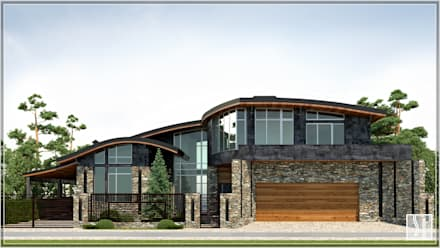 дом: Дома на одну семью в . Автор – Студия дизайна Светланы Исаевой