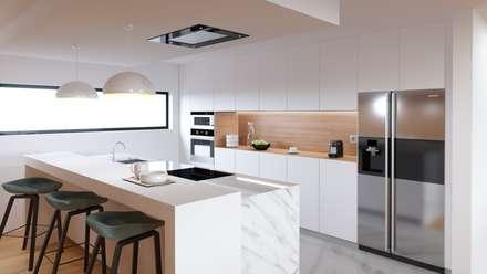 Кухонные блоки в . Автор – Fabio Pereira & João Fraga, Arquitetos