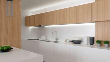 Reabilitação interior : Cozinhas modernas por FabioCostaPereira.Arq