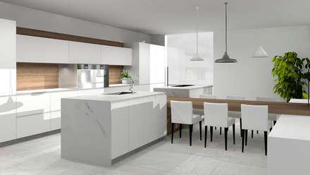 O seu Projeto: Cozinhas modernas por Kitchen In