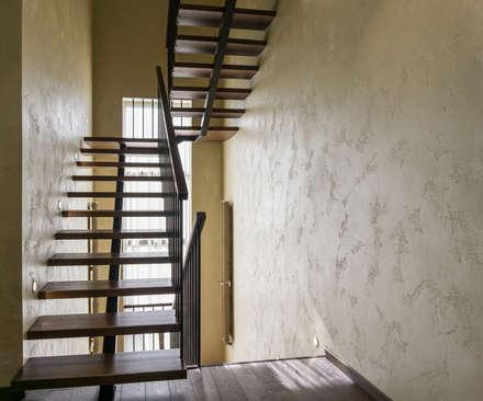 Тихая гавань: Лестницы в . Автор – Архитектурная мастерская Leto