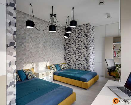غرفة نوم مراهقين  تنفيذ Art-i-Chok