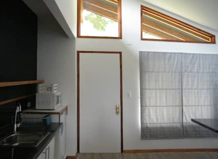 Wooden windows by Casabella