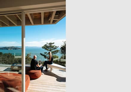 Sausalito Outlook:  Patios & Decks by Feldman Architecture