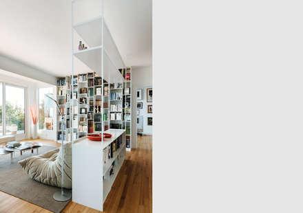 Sausalito Outlook: modern Media room by Feldman Architecture