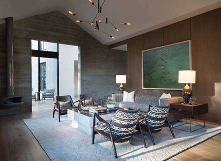 Woodpecker Ranch: modern Living room by Feldman Architecture