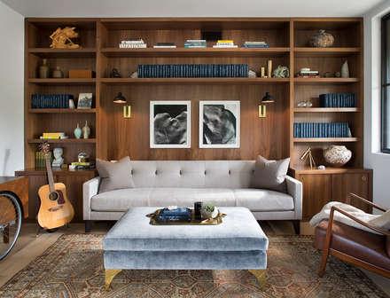 Modern Farmhouse: modern Study/office by Feldman Architecture