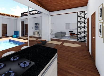 Kitchen units by realizearquiteturaS