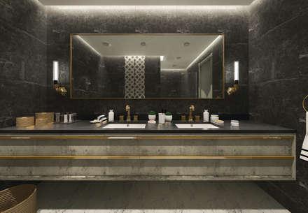 Baños de estilo moderno por 50GR Mimarlık