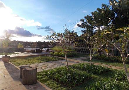 PROJETO MFG: Jardins campestres por Amaury Neto Paisagismo