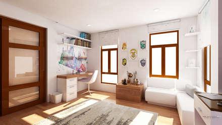 moderne Schlafzimmer von  ABG Architects and Builders