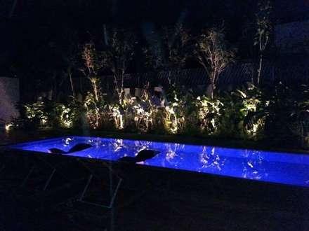 Piscinas de jardín de estilo  por HIDRO ELETRICA AMORIM INSTALADORA