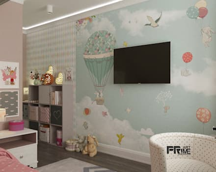 Dormitorios juveniles  de estilo  por 'PRimeART'
