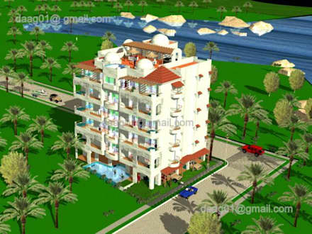 Terrace house by DISEÑO APLICADO AVANZADO DE GUADALAJARA