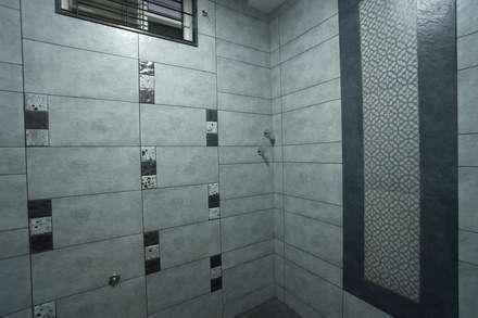 Ground floor master bedroom bathroom: modern Bathroom by Hasta architects