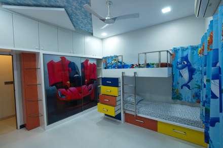 modern Nursery/kid's room by Hasta architects