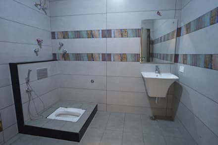 bathroom: modern Bathroom by Hasta architects
