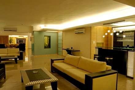 Residence: modern Media room by ozone interior