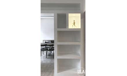 DOM: Sala da pranzo in stile in stile Industriale di ULA architects