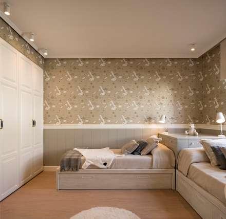 غرفة نوم أولاد تنفيذ Sube Susaeta Interiorismo
