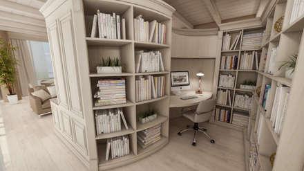 Oficinas de estilo colonial por studiosagitair