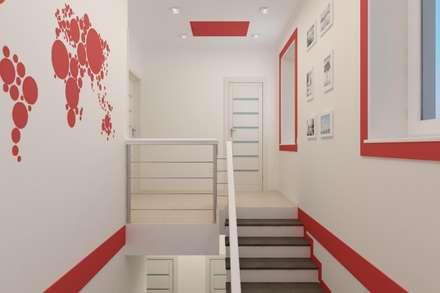 Escaleras de estilo  por Дизайн студия 'Exmod' Павел Цунев