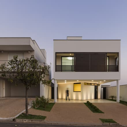 Terrace house by Vertentes Arquitetura