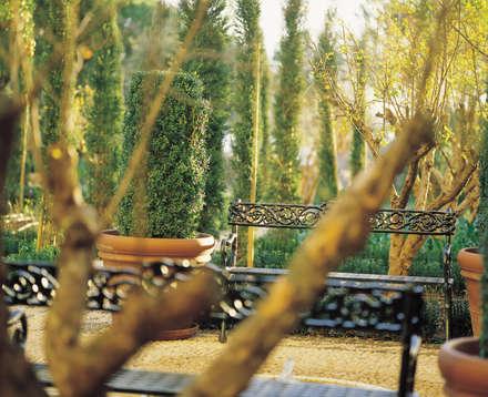 Jardines con piedras de estilo  por Margarita Jiménez moreno