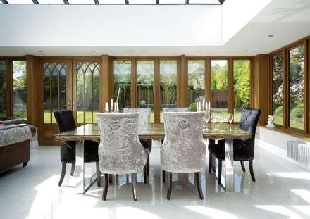 Bespoke Orangery: classic Conservatory by absolute interior design ltd