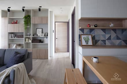 Floors by 極簡室內設計
