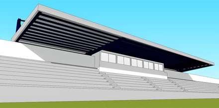 Stadiums by PE. Projectos de Engenharia, LDa