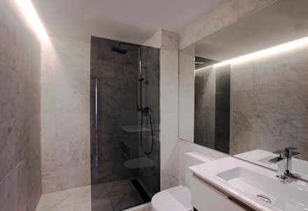 浴室 by Singularq Architecture Lab