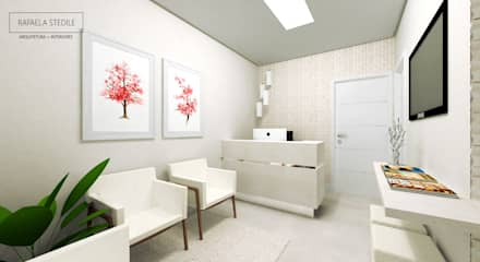 Clinics by Rafaela Stedile Arquitetura + Interiores