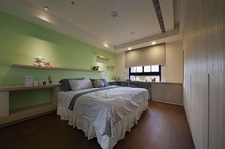asian Nursery/kid's room by 夏川空間設計工作室