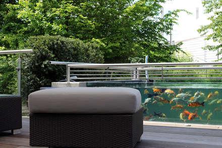 Lagoas de jardins  por RAUCH Gaten- und Landschaftsbau GbR