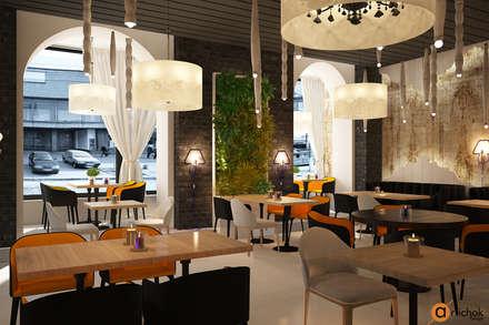 Ресторан в современном стиле: Ресторации в . Автор – Art-i-Chok