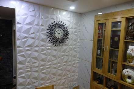 Công trình ốp tường trang trí nội thất tại Cổ Nhuế Hà Nội:  Nhà bếp by Công Ty TNHH Ferino Việt Nam