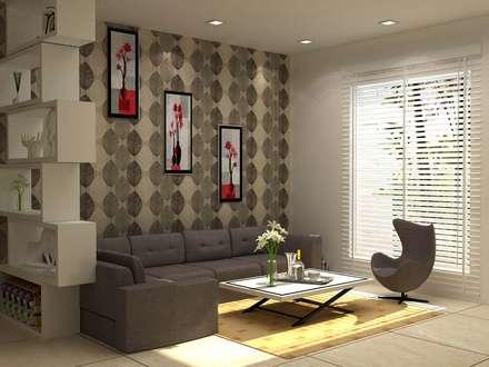 moderne Wohnzimmer von Form & Function