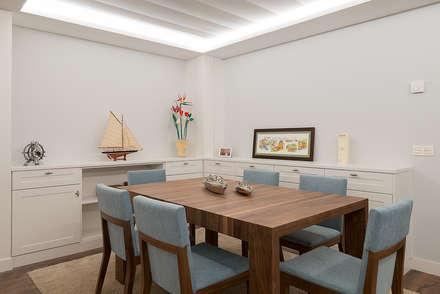 Reforma integral en Neguri: Comedores de estilo clásico de Gumuzio&PRADA diseño e interiorismo