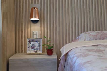 กำแพง by 夏川空間設計工作室