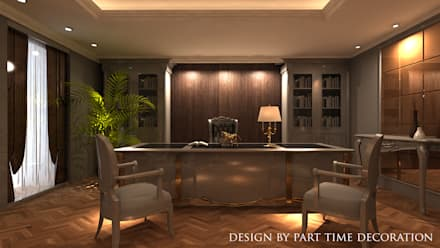 Office buildings by PART TIME DECORATION&DESIGN&ART