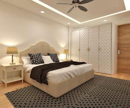 Moderne Schlafzimmer Von SPACCE INTERIORS Nice Look