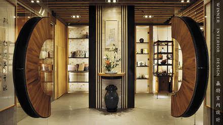 迎賓入口:  商業空間 by 贏特室內裝修工程有限公司  Winner Interior Design