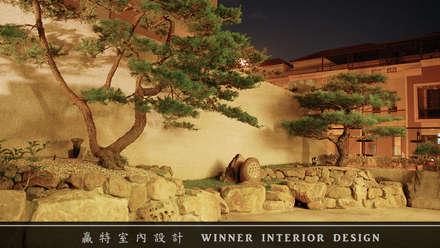 Giardino Zen in stile  di 贏特室內裝修工程有限公司  Winner Interior Design