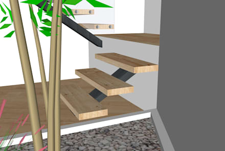 3D Loft: Jardins de Inverno modernos por ORCHIDS LOFT